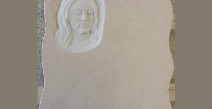 Мраморная надгробная плита Трани