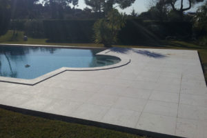 Botticino Marble Pool in Mougins10