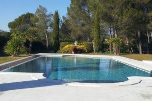 Botticino Marble Pool in Mougins4