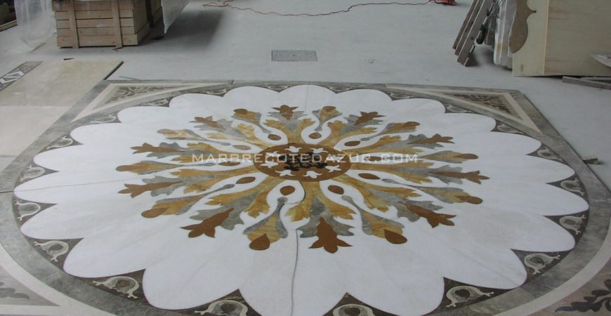 Artistic tile with Waterjet for Private Town