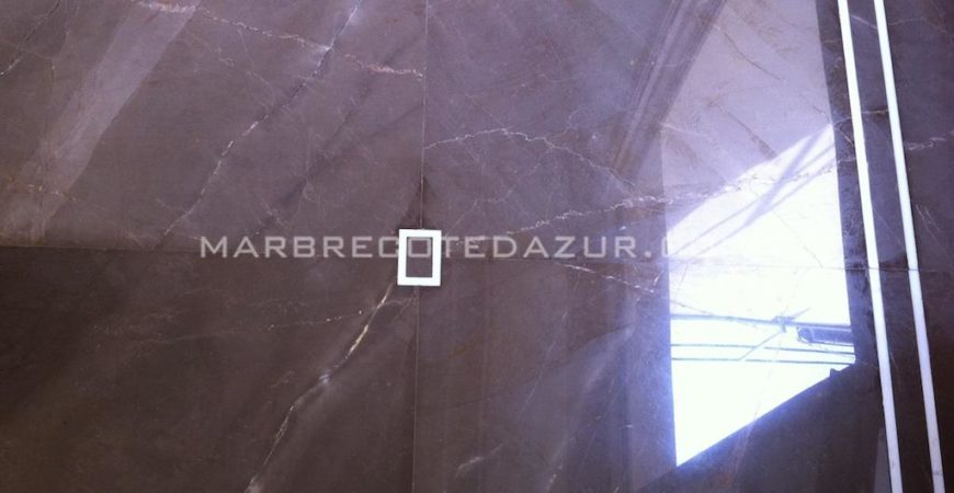 Sivec Imperial Brown and White Marble Tiles