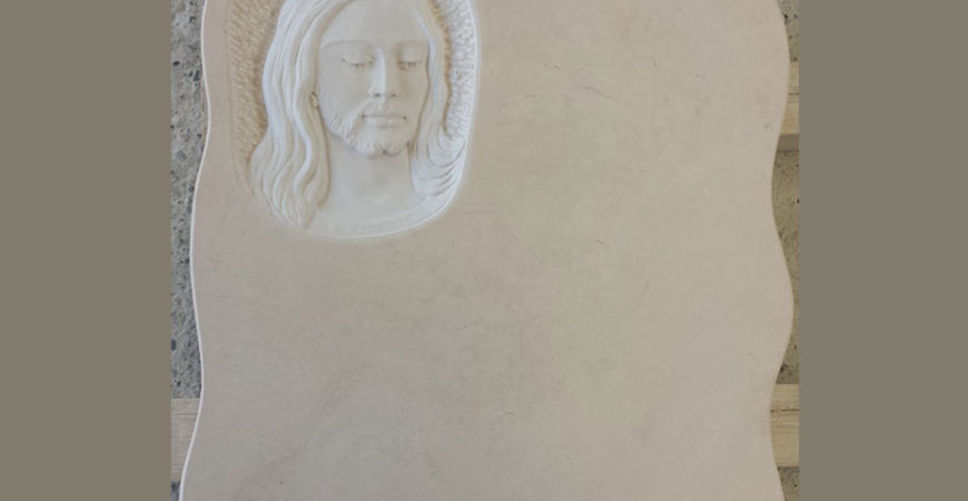 Marble Gravestone in Trani