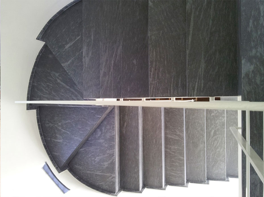 Stair in Cardoso Natural Stone