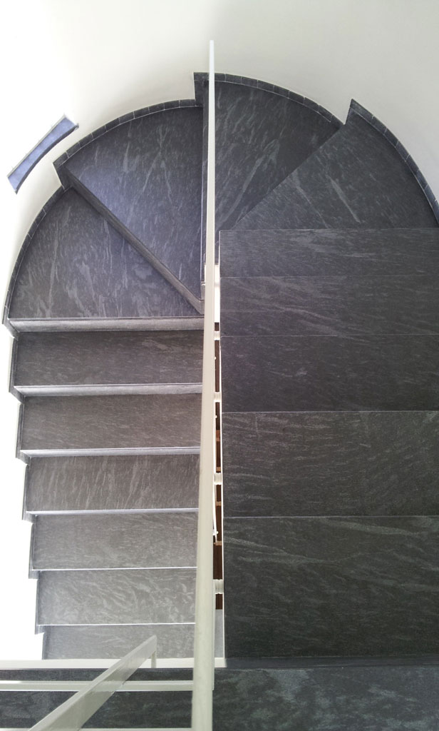 Stair in Cardoso Natural Stone3
