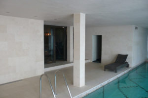 Swiming Pool in Botticino Marble11