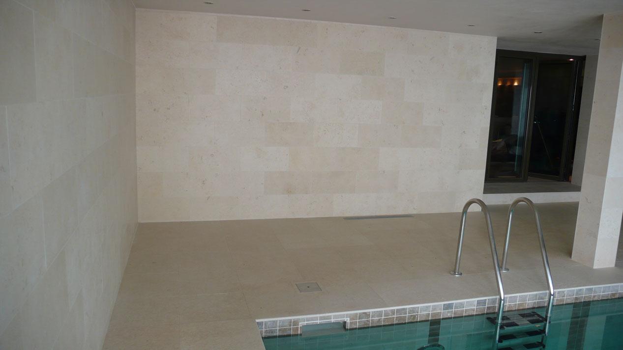 Swiming Pool in Botticino Marble2