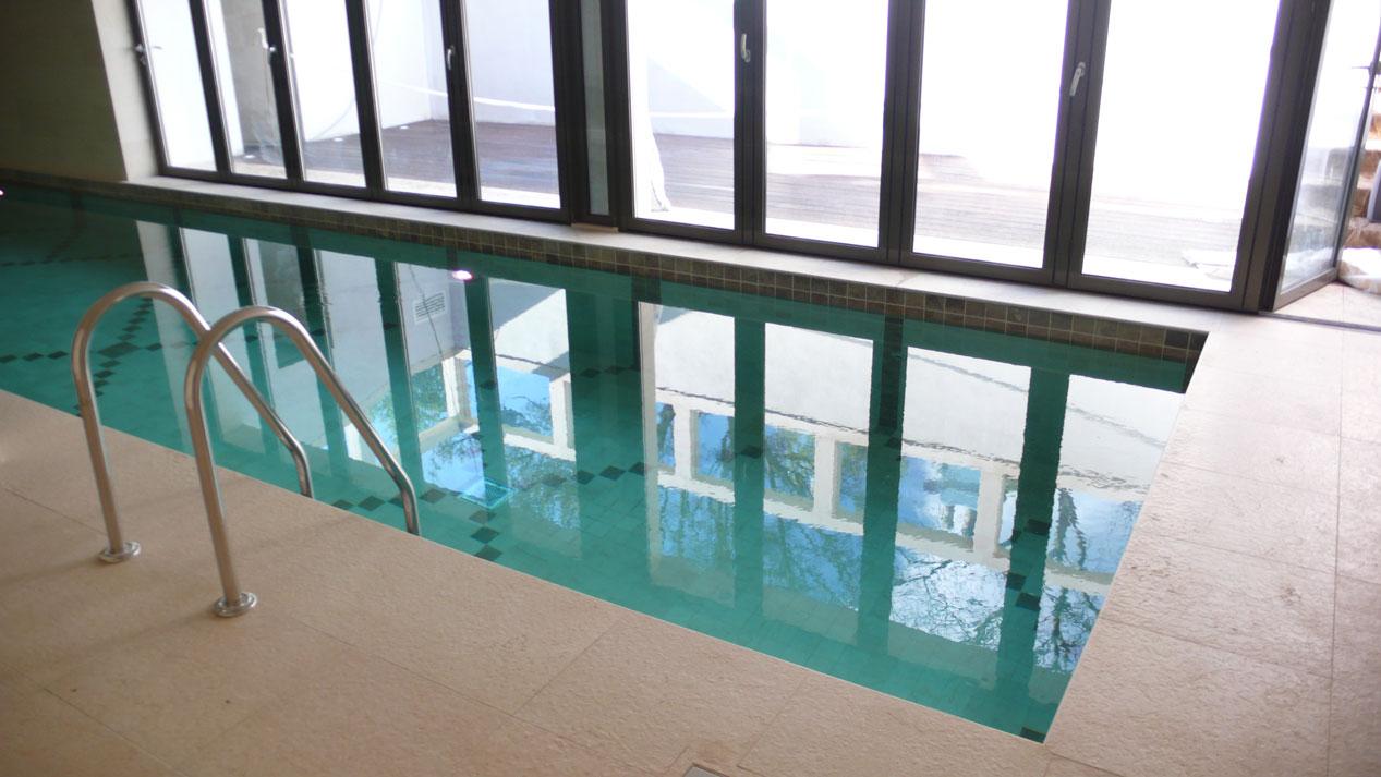 Swiming Pool in Botticino Marble5