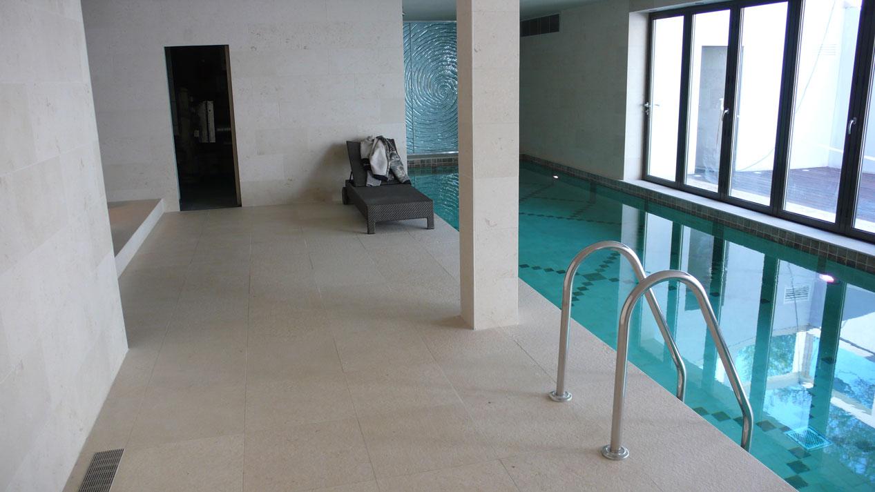 Swiming Pool in Botticino Marble8