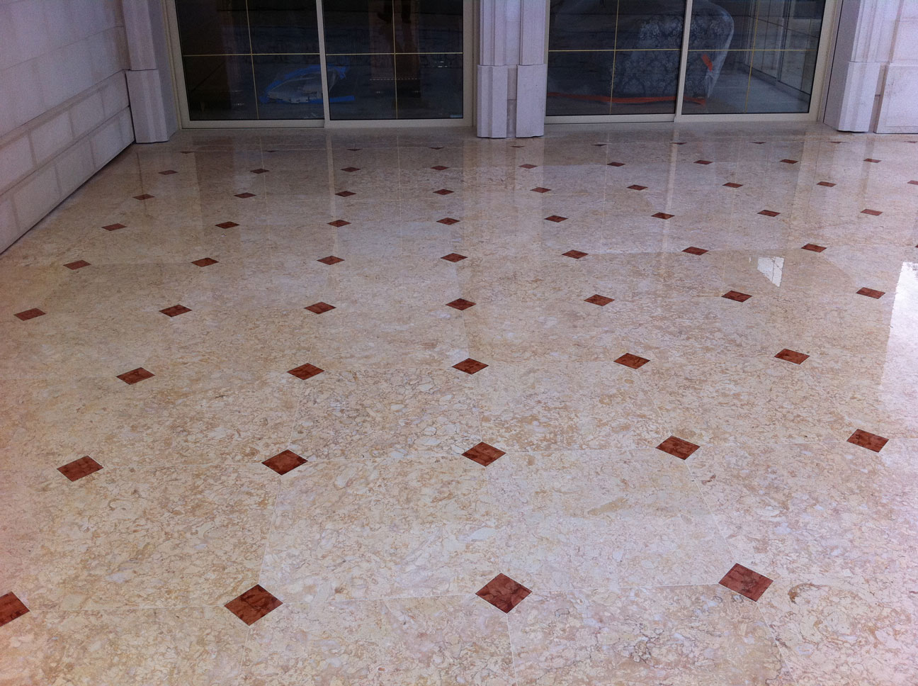 Terrace with Marble Floor-4