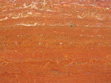 Красный травертин